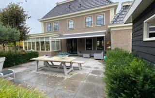 Knikarmschermen op maat bij Van Ewijk Zonwering in Lelystad Dronten Swifterbant en Almere 0D