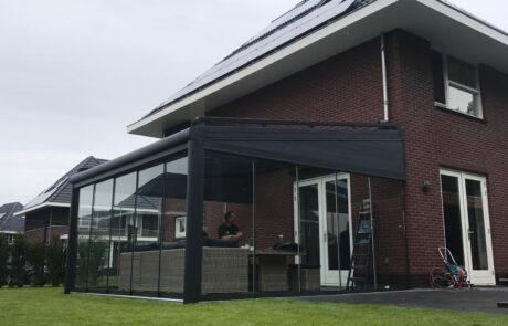 Overkapping op maat bij Van Ewijk Zonwering in Lelystad Dronten Swifterbant en Almere 0G