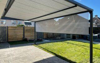 Pergola zonwering op maat bij Van Ewijk Zonwering in Lelystad Dronten Swifterbant en Almere 0D