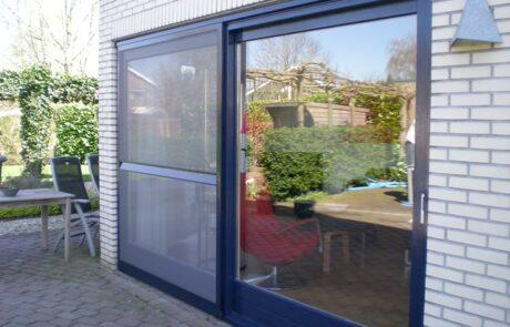 Schuifhordeuren op maat bij Van Ewijk Zonwering in Lelystad Dronten Swifterbant en Almere 01