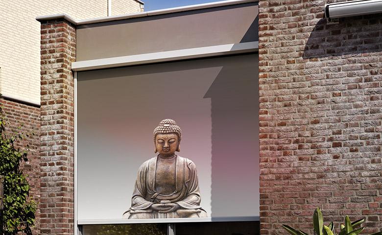 Screendoeken bedrukken bij Van Ewijk Zonwering in Lelystad Dronten Almere en Swifterbant 5