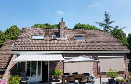 Screens en zipscreens op maat bij Van Ewijk Zonwering in Lelystad Dronten Swifterbant en Almere 00
