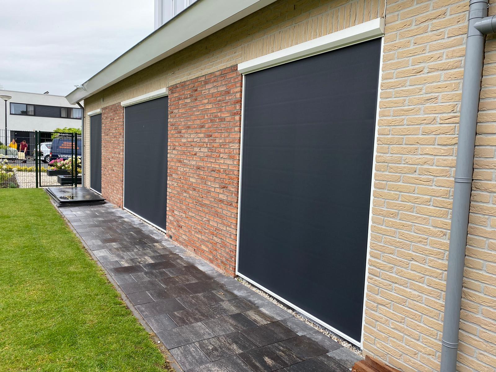 Screens en zipscreens op maat bij Van Ewijk Zonwering in Lelystad Dronten Swifterbant en Almere 04