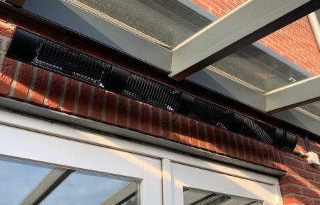 Terrasverwarmingen voor overkappingen in Lelystad