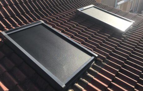 VELUX buitenzonwering op zonne energie bij Van Ewijk Zonwering in Lelystad Dronten Swifterbant en Almere 2