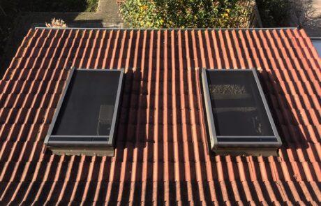 VELUX buitenzonwering op zonne energie bij Van Ewijk Zonwering in Lelystad Dronten Swifterbant en Almere