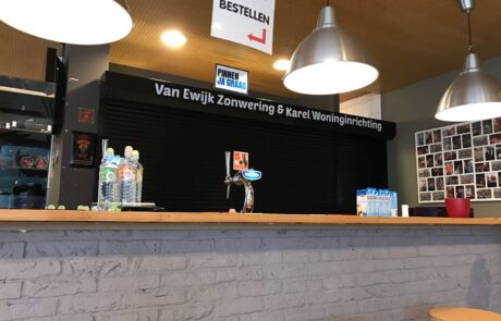 Van Ewijk Zonwering Projectzonwering Hockey vereniging Lelystad