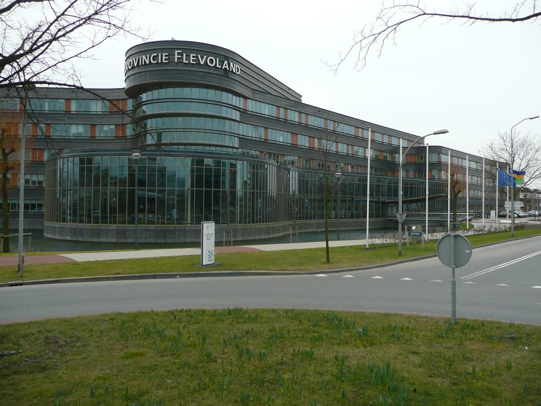 Van Ewijk Zonwering Projectzonwering Provinciehuis Flevoland