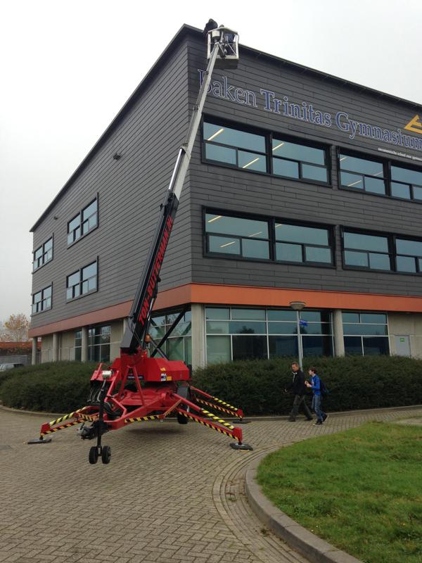 Van Ewijk Zonwering Projectzonwering Scholengemeenschap Baken Trinitas Gymnasium
