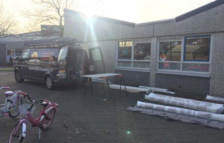 Van Ewijk Zonwering Projectzonwering en Basisschool Crescendo Almere scaled