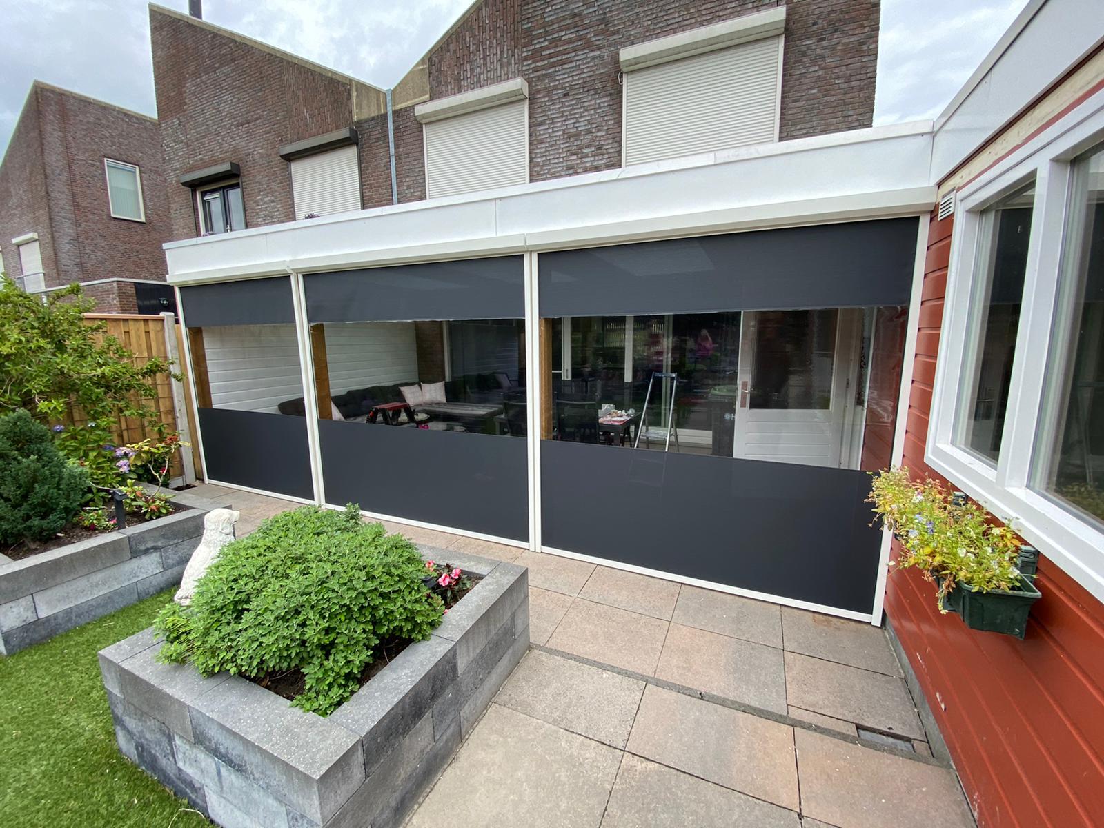 Veranda screens en zipscreens op maat bij Van Ewijk Zonwering in Lelystad Dronten Swifterbant en Almere 00