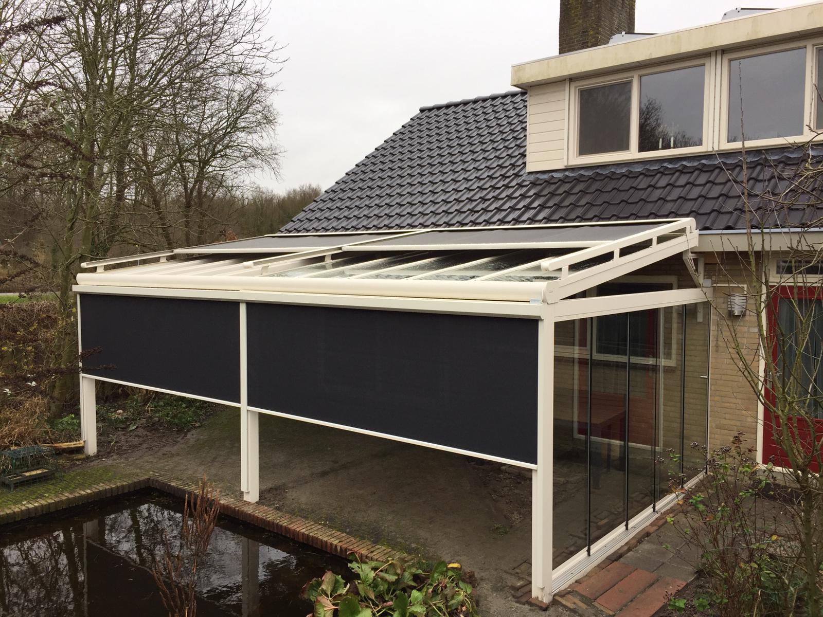 Veranda screens en zipscreens op maat bij Van Ewijk Zonwering in Lelystad Dronten Swifterbant en Almere 01