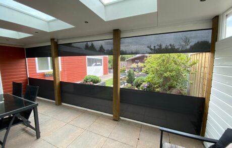 Veranda screens en zipscreens op maat bij Van Ewijk Zonwering in Lelystad Dronten Swifterbant en Almere 02