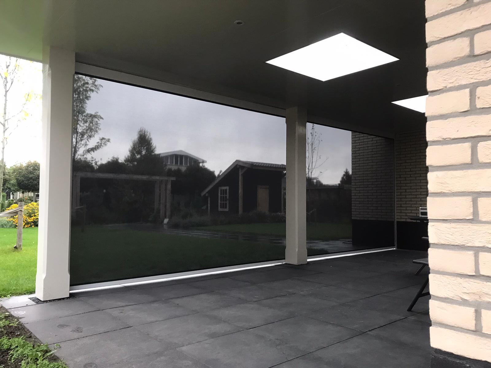 Veranda screens en zipscreens op maat bij Van Ewijk Zonwering in Lelystad Dronten Swifterbant en Almere 04