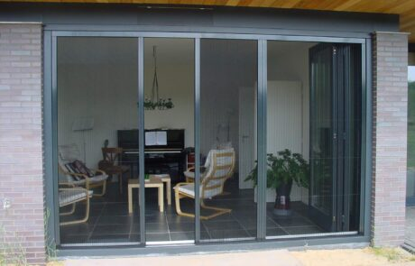 plissehordeuren op maat bij Van Ewijk Zonwering in Lelystad Dronten Swifterbant en Almere 03