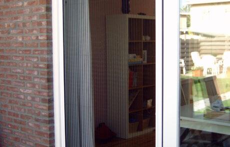 plissehordeuren op maat bij Van Ewijk Zonwering in Lelystad Dronten Swifterbant en Almere 07