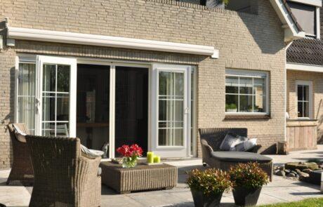 plissehordeuren op maat bij Van Ewijk Zonwering in Lelystad Dronten Swifterbant en Almere 09